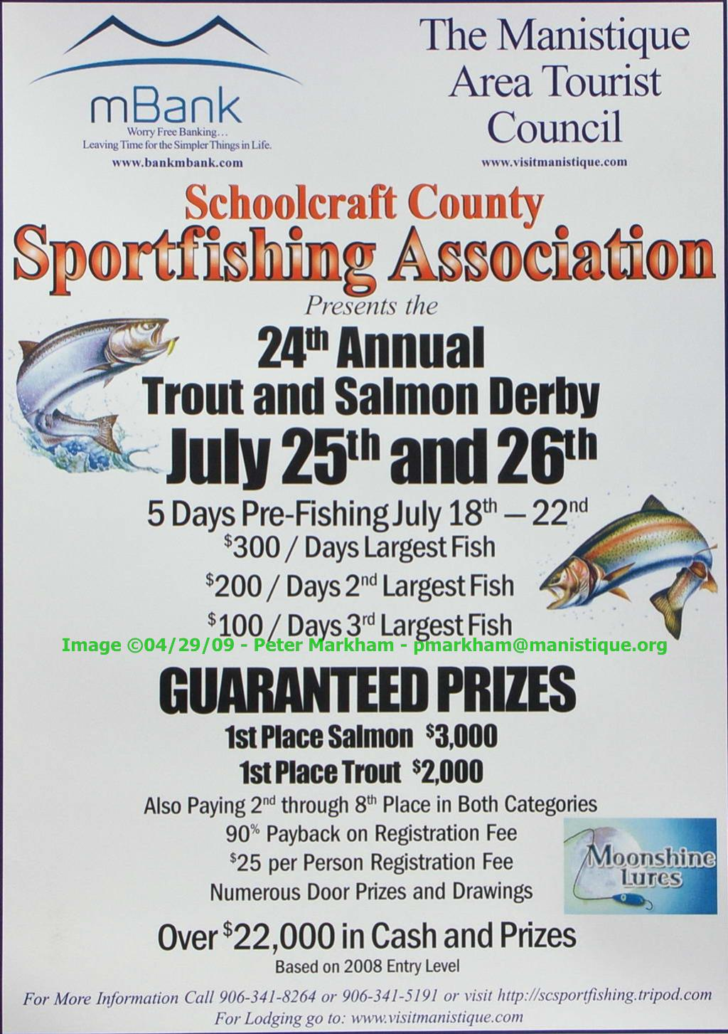 Manistique Salmon and Trout Derby 2009